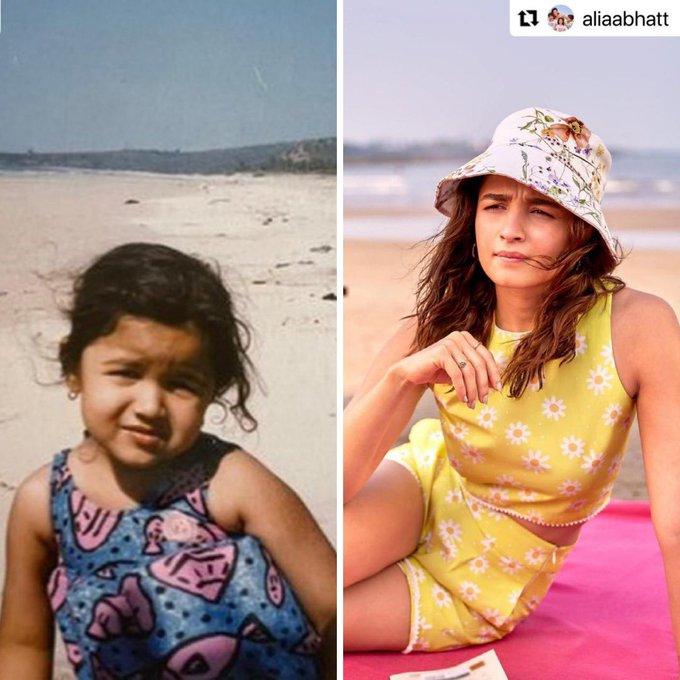 पहले से कितनी बदल गई हैं आलिया भट्ट, शेयर की Then and Now वाली क्यूट PICS