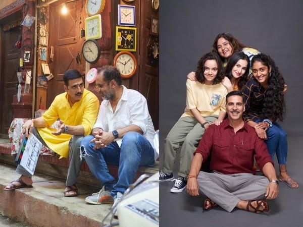 रक्षाबंधन से अक्षय कुमार का लुक, अपनी बहन अलका को डेडिकेट की फिल्म- आज से शूटिंग शुरू
