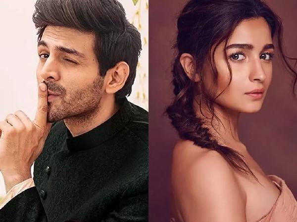 हीरा मंडी फिल्म में आलिया भट्ट और कार्तिक आर्यन की जोड़ी   Did Sanjay Leela Bhansali final Kartik Aaryan Alia Bhatt for Heera Mandi lead role? Here is new update