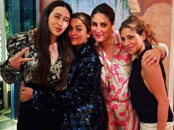 Pics: 47 साल की हुईं करिश्मा कपूर, करीना और गर्ल गैंग के साथ शुरू की बर्थ डे पार्टी