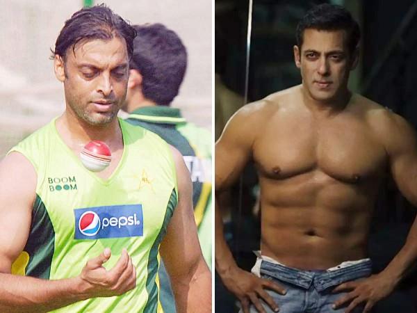 मेगास्टार सलमान खान के फैन हैं पाकिस्तानी क्रिकेटर शोएब अख्तर, जानिए क्यों किया खुलासा!