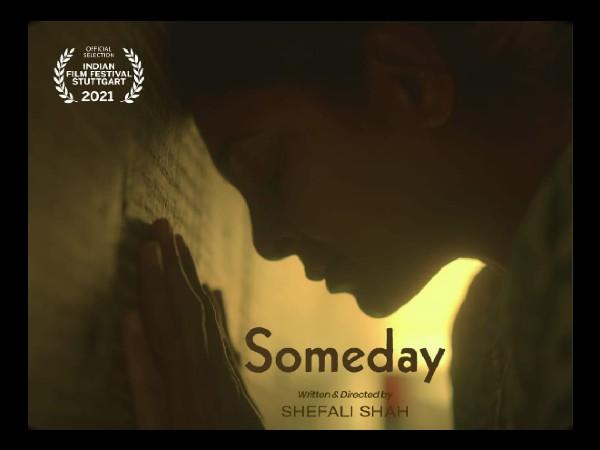 शेफाली शाह की पहली निर्देशित फिल्म 'समडे' की 18वें भारतीय फिल्म समारोह स्टटगार्ट 2021 में एंट्री