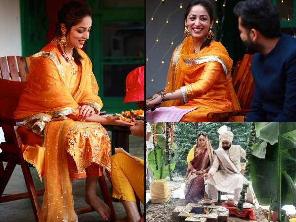 यामी गौतम वेड्स आदित्य धर- शादी और मेंहदी सेरेमनी की INSIDE तस्वीरें आई सामने