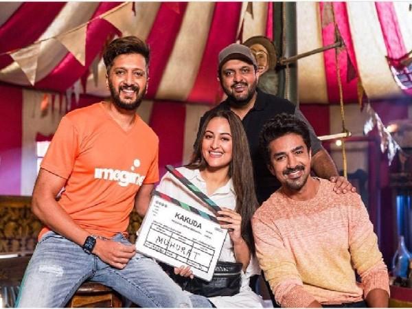सोनाक्षी सिन्हा और रिेतेश देशमुख की हॉरर कॉमेडी फिल्म ककुड़ा का ऐलान, आज से शुरु होगी शूटिंग!