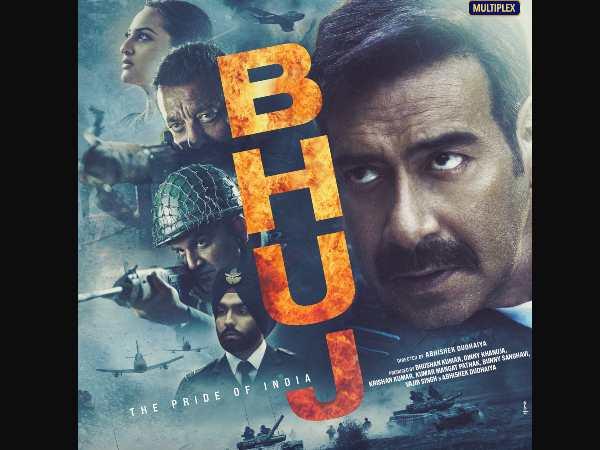 अजय देवगन की फिल्म 'भुज द प्राइड ऑफ इंडिया' का नया पोस्टर