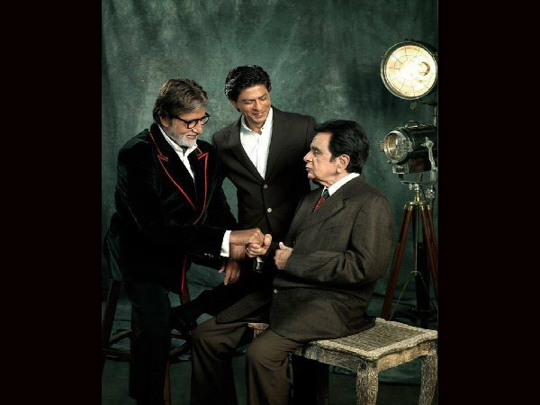 फिल्मफेयर ने साझा की यादें, जब एक फ्रेम में आए थे अमिताभ बच्चन, शाहरुख खान और दिलीप कुमार!