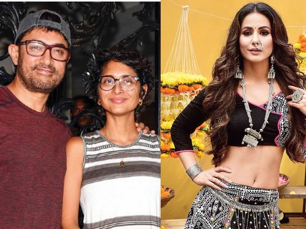 आमिर खान और किरण राव के तलाक पर ये क्या बोल गईं हिना खान? चर्चा में है बयान!