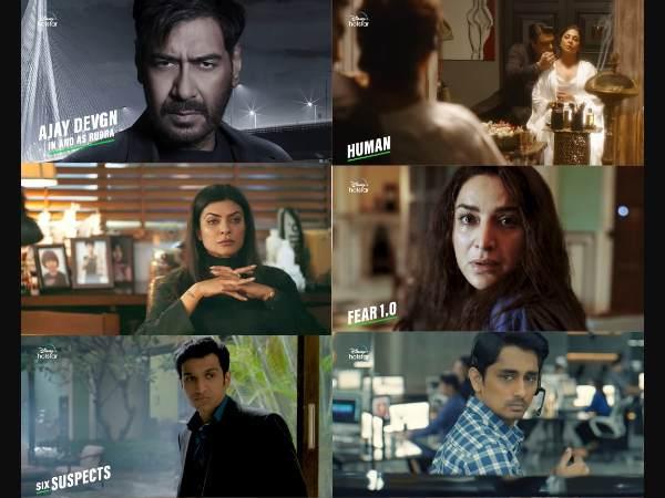 रुद्र, आर्या 2, क्रिमिनल जस्टिस 3 समेत डिज्नी प्लस हॉटस्टार ने की अपकमिंग 18 फिल्में और वेब सीरिज की घोषणा