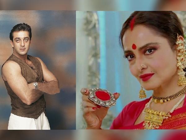 क्या है रेखा और संजय दत्त की सीक्रेट शादी का राज? पिता सुनील दत्त ने दी थी ये हिदायत