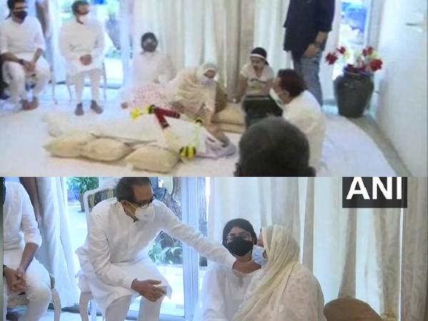 सायरा बानो से मिले मिले CM उद्धव ठाकरे, दिलीप कुमार का अंतिम संस्कार शासकीय सम्मान के साथ होगा