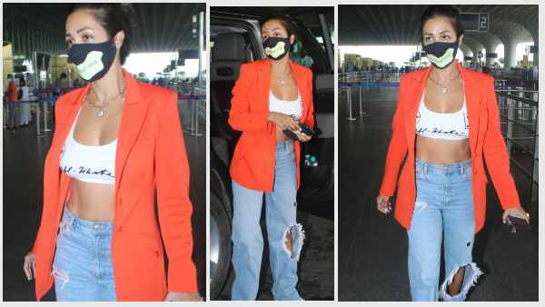 एयरपोर्ट लुक में मलाईका अरोड़ा की फिटनेस देख दंग रह गए फैन्स, वायरल तस्वीरें