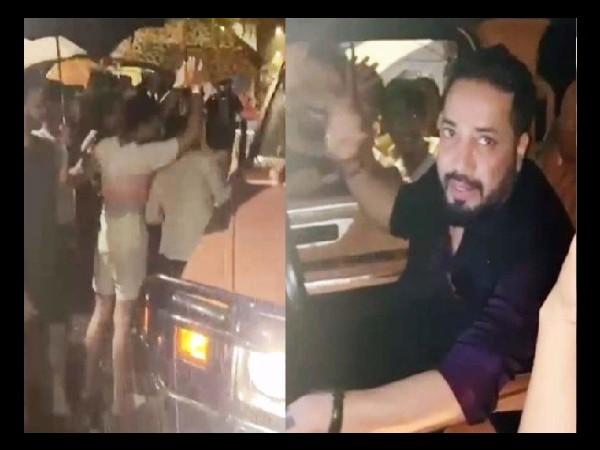 रात को 3 बजे मुंबई की बारिश में मीका सिंह- आकांक्षा पुरी की गाड़ी खराब, 200 लोगों ने की मदद VIDEO