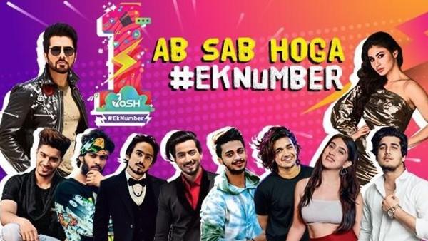 जोश एप की पहली एनिवर्सरी - सोनू सूद, मौनी रॉय सहित भारत के टॉप Influencers ने लॉन्च किया #EkNumber चैलेंज