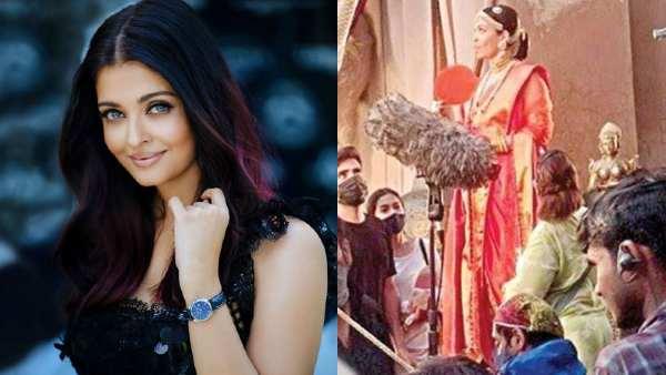 फिल्म 'पोन्नियिन सेलवन' की सेट से ऐश्वर्या राय बच्चन का फर्स्ट लुक लीक