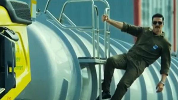 अक्षय कुमार ने 'बेल बॉटम' में किया हाई ऑक्टेन एक्शन सीन्स, VIDIEO