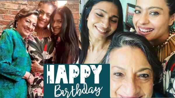 Pics: काजोल का जन्मदिन कुछ यूं शुरू हुआ, पहली बार की शाहरूख खान - राजकुमार हिरानी की फिल्म पर बात