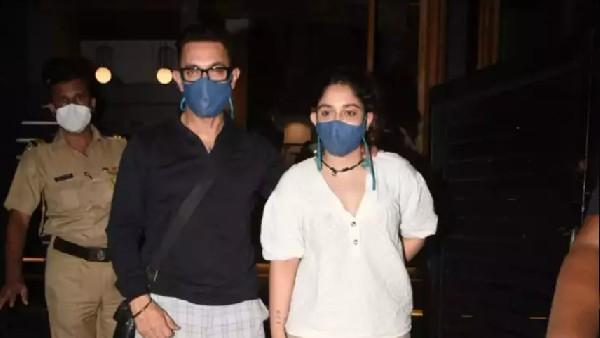 आयरा खान के साथ डिनर पर पहुंचे आमिर खान, लाल सिंह चड्ढा की शूटिंग की है पूरी!