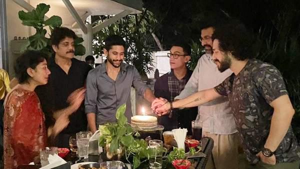 आमिर खान के साथ डिनर के दौरान नागार्जुन क्यों हुए इमोशनल! देंखे तस्वीर