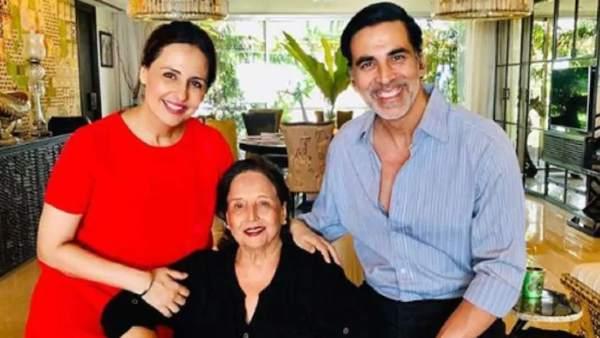 अक्षय कुमार के मां की हालत गंभीर, आईसीयू में भर्ती- फिल्म की शूटिंग छोड़ यूके से वापस आए एक्टर