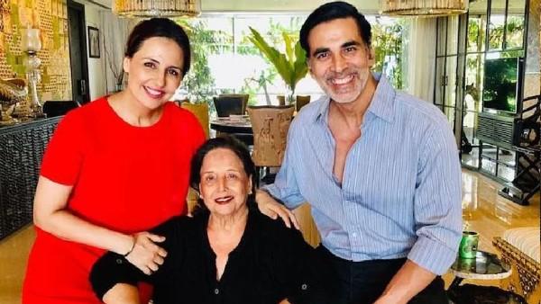 अक्षय कुमार की मां अरुणा भाटिया का निधन, शोक में डूबे खिलाड़ी कुमार ने किया ये पोस्ट!