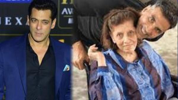 सलमान खान ने अक्षय कुमार की माता के निधन पर व्यक्त किया दुख, ट्वीट हो रहा है वायरल!