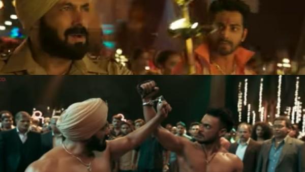 दमदार एक्शन के साथ रिलीज हुआ विघ्नहर्ता सॉन्ग, सलमान खान, वरुण धवन और आयुष शर्मा का धमाका!