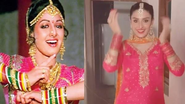 पाकिस्तानी अभिनेत्री आयजा खान ने श्रीदेवी के इस गाने पर किया डांस, धड़ल्ले से वायरल हुआ वीडियो!