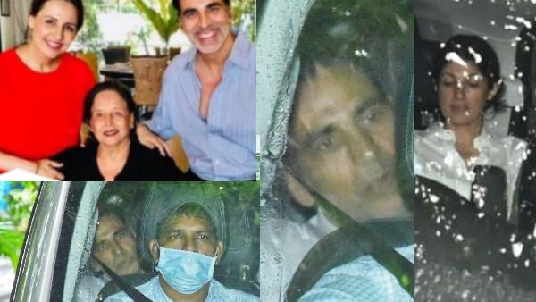मां के अंतिम संस्कार से अक्षय कुमार की बेहद भावुक तस्वीर, नम आंखें लिए ट्विंकल खन्ना के साथ आए नजर- Pic