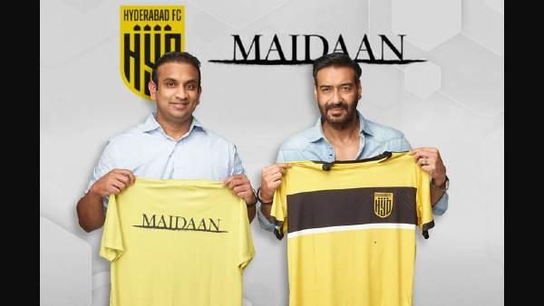 फिल्म 'मैदान' को लेकर अजय देवगन की बड़ी घोषणा- कहा, 'युवाओं के बीच फुटबॉल को बढ़ावा देना है'