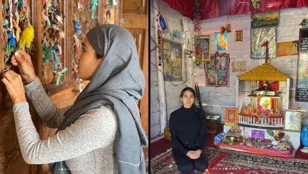 सारा अली खान मंदिर भी गईं और मस्जिद भी, लेकिन पहली बार किसी ने नहीं किया ट्रोल, देखिए तस्वीरें