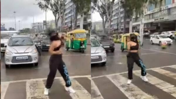 इंदौर में बीच सड़क डांस करने लगीं 'रोडीज़' फेम श्रेया, मचा बवाल, पुलिस ने दर्ज की एफआईआर- VIDEO