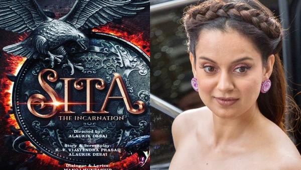 SITA- अब सीता बनेंगी कंगना रनौत, फर्स्ट पोस्टर के साथ खुद अभिनेत्री ने किया दमदार ऐलान!