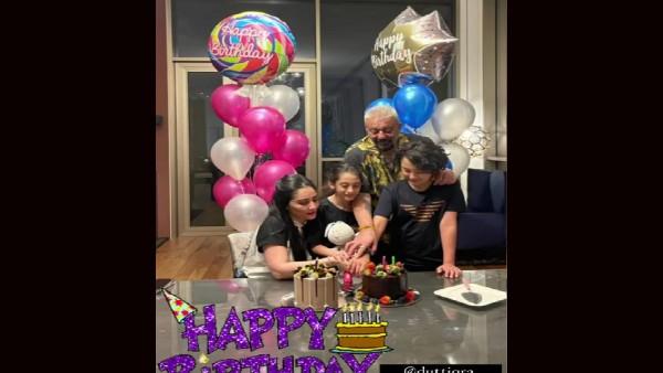 संजय दत्त और मान्यता ने मनाया अपने बच्चों का जन्मदिन, वायरल हुई बेहद प्यारी तस्वीर!