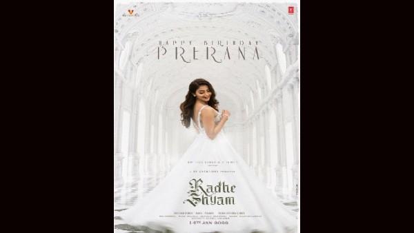 पूजा हेगड़े के जन्मदिन पर प्रभास ने दी शुभकामनाएं, राधे श्याम से अभिनेत्री का सोलो पोस्टर रिलीज!