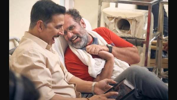 अक्षय कुमार ने पूरी कर ली आनंद एल राय की 'रक्षाबंधन', सेट से शेयर की तस्वीर