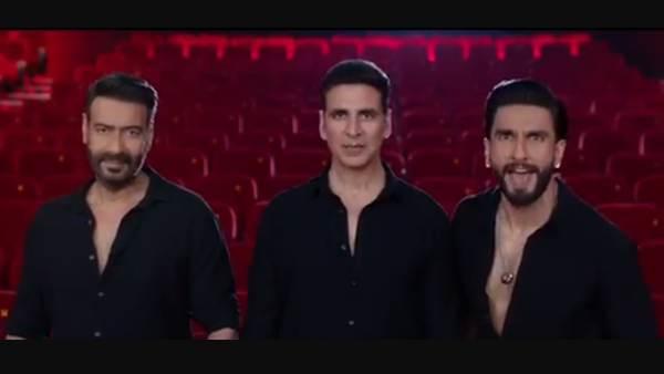 सूर्यवंशी: अक्षय कुमार, अजय देवगन, रणवीर सिंह ने रिलीज किया धमाकेदार प्रोमो- कहा, इंटरवल खत्म, अब है शो टाइम