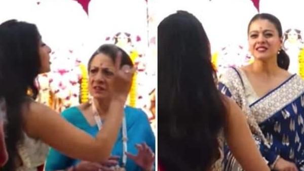 सरेआम हुई काजोल और उनकी बहन तनीषा मुखर्जी की लड़ाई, मां ने करवाया दोनों को चुप- VIDEO वायरल