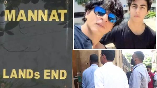 आर्यन खान ड्रग्स केस: शाहरुख खान के घर मन्नत पहुंची NCB-  कार्रवाई पर अधिकारी ने दिया ये बयान