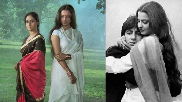 40 साल पहले क्यों जया बच्चन को दी कसम के बावजूद अमिताभ बच्चन ने रेखा के साथ फिल्म की!