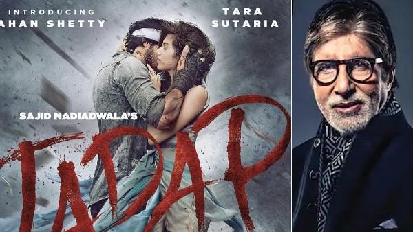 अमिताभ बच्चन से लेकर मोहनलाल तक, अहान शेट्टी की 'तड़प' के ट्रेलर की जमकर हुई तारीफ