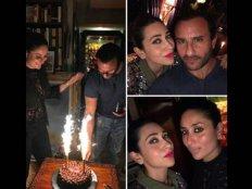 कुछ इस तरह सैफ ने मनाया जन्मदिन..दिखी करीना-सारा की बॉन्डिंग