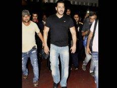 भारत लौटे सलमान खान..एयरपोर्ट पर शानदार लुक में आए नजर