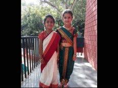महाराष्ट्रियन लुक में नजर आईं सुपरस्टार महेश बाबू की बेटी..SUPER CUTE