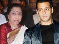 Asha Bhosle Takes Dig At Salman Khan