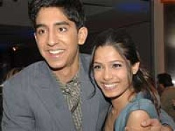 Freida Pinto Dev Patel Walk The Red Carpet Toronto