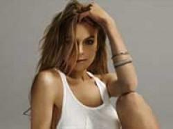 Lindsay Lohan Braless