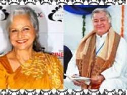 Shashi Kapoor Waheeda Rehman Khayyam Padma Bhushan Aid