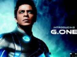 Shah Rukh Khan Super Sized Statue Ra One Aid