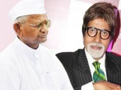 Amitabh Bachchan Play Anna Hazare Satyagraha Aid