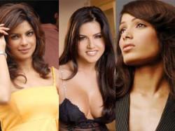 Sunny Leone Priyanka Chopra Freida Pinto Hot Female Aid